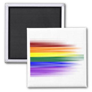 Rainbow Flag Magnet (Square)