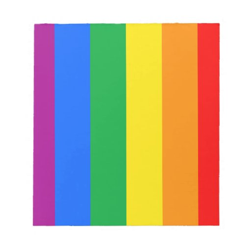 Rainbow Flag Memo Pads