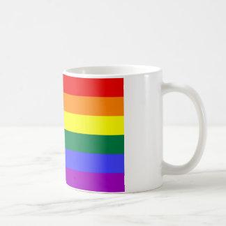 Rainbow Flag Mog Coffee Mug