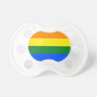 Rainbow Flag Pacifier