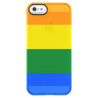 Rainbow Flag Permafrost iPhone SE/5/5s Case