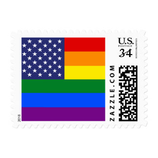 """RAINBOW FLAG"" POSTAGE"