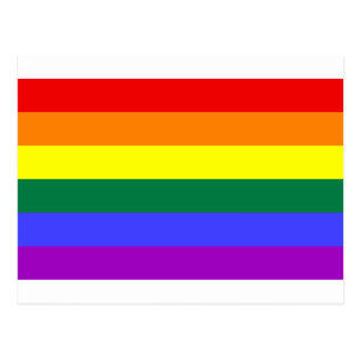 Rainbow Flag Postcard