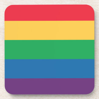 Rainbow Flag Pride Coaster Set
