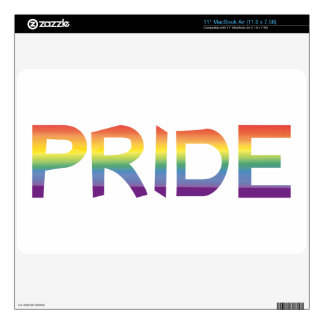 Rainbow Flag Pride Decal For MacBook