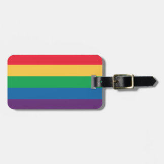 Rainbow Flag Pride Luggage Tag