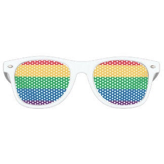 Rainbow Flag Pride Party Shades