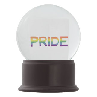 Rainbow Flag Pride Snow Globe