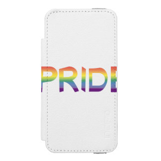 Rainbow Flag Pride Wallet Case For iPhone SE/5/5s