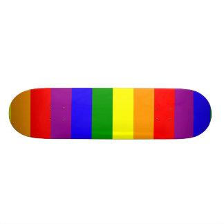 Rainbow flag skate deck
