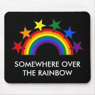 RAINBOW FLAG STARS III + your ideas Mouse Pad
