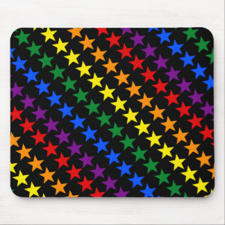 RAINBOW FLAG STARS + your ideas Mouse Pad