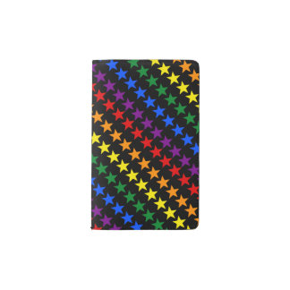 RAINBOW FLAG STARS + your ideas Pocket Moleskine Notebook