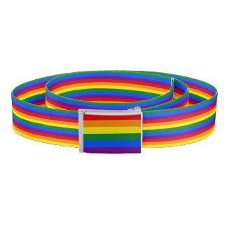 RAINBOW FLAG stripes + your ideas Belt