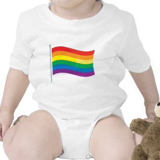 Rainbow Flag Baby Creeper