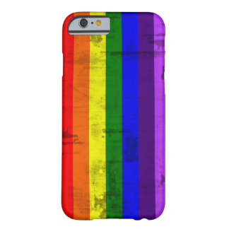 Rainbow flag vintage barely there iPhone 6 case