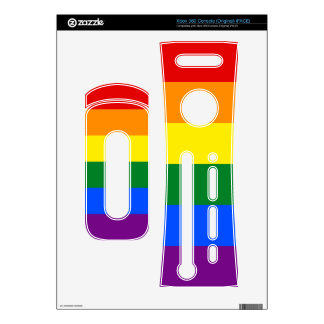 Rainbow Flag Xbox 360 Console Skin