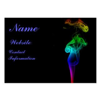 Rainbow Flame Business Card