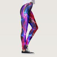 Rainbow Flame Leggings