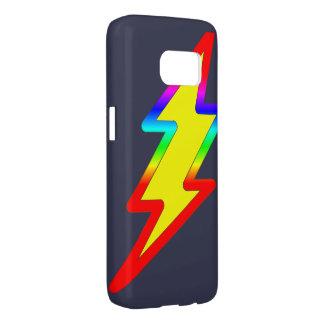 Rainbow Flash Samsung Galaxy S7 Case
