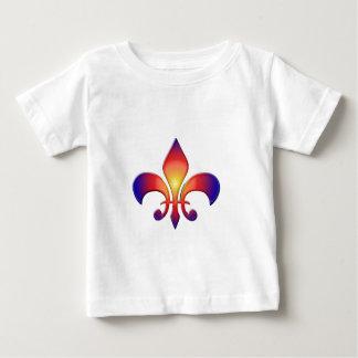 Rainbow Fleur de Lis Tee Shirt