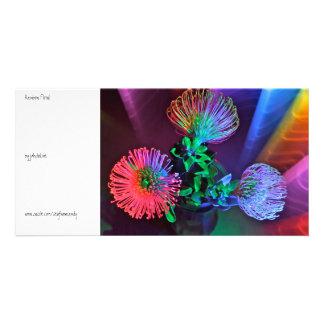 Rainbow Floral Card