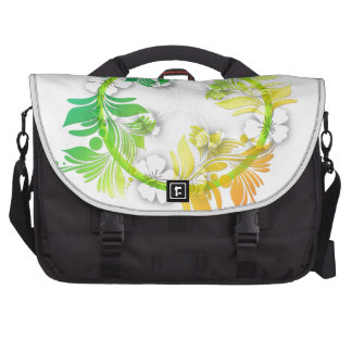 Rainbow Floral Bags For Laptop