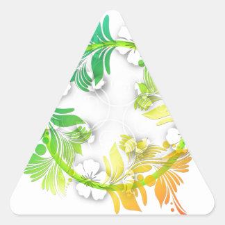 Rainbow Floral Sticker