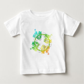 Rainbow Floral T-shirts