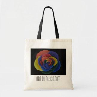 Rainbow Flower Bag