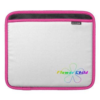 Rainbow Flower Child iPad Sleeve