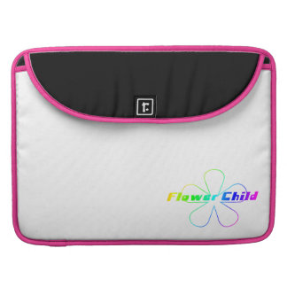 Rainbow Flower Child Sleeve For MacBooks