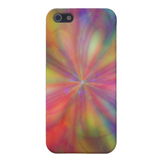 Rainbow Flower Cover For iPhone SE/5/5s
