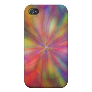 Rainbow Flower iPhone 4/4S Case