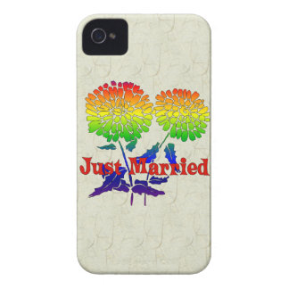 Rainbow Flower Marriage Blackberry Bold Covers