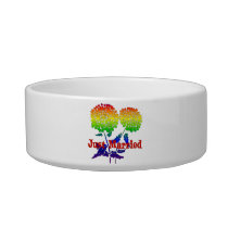 Rainbow Flower Marriage Bowl