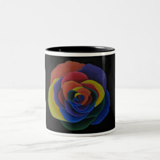 Rainbow Flower Mug