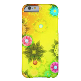 Rainbow Flower Power Barely There iPhone 6 Case