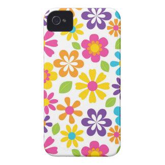 Rainbow Flower Power Hippie Retro Teens Gifts iPhone 4 Cover