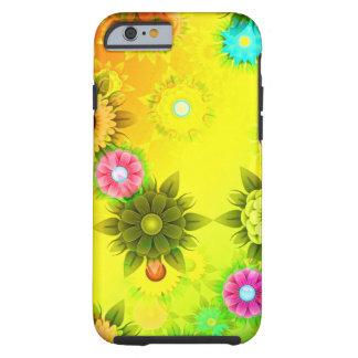 Rainbow Flower Power Tough iPhone 6 Case