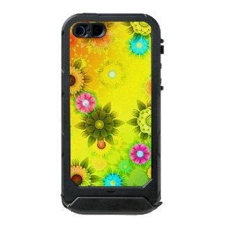 Rainbow Flower Power Waterproof iPhone SE/5/5s Case