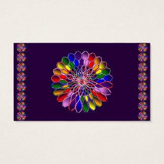 Rainbow Floweret Business Cards