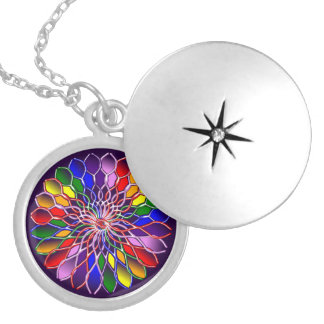 Rainbow Floweret Necklace