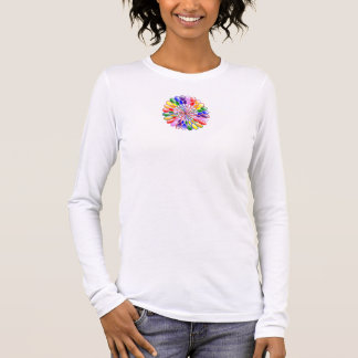 Rainbow Floweret Women's Long Sleeve T-Shirt