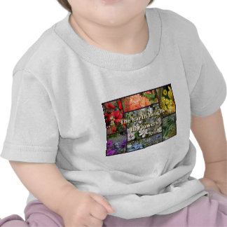 Rainbow Flowers - Earth Laughs by Emerson Tees