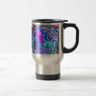 Rainbow Foil Sphere Travel Mug