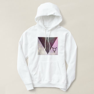 Rainbow forest with Transgender Sign Hoody