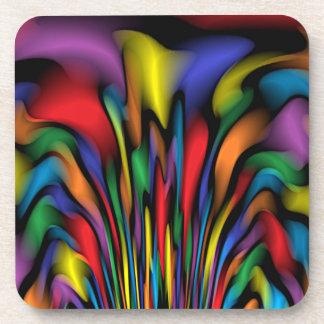 Rainbow Fountain Coasters