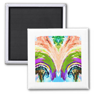Rainbow Fountain of youth V1 - 2 Inch Square Magnet