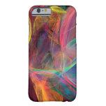 Rainbow Fractal Art iPhone 6 Case